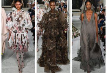 модный показ от валентино весна лето 2019