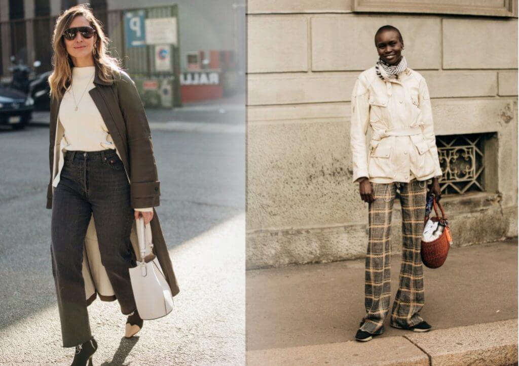 уличная итальянская мода