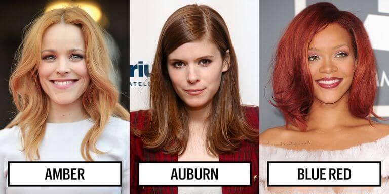 кому идет рыжий волос