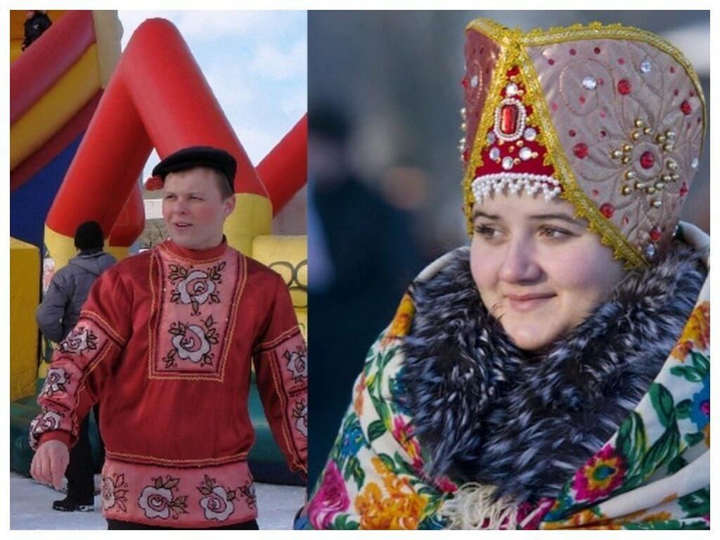 масленица традиционна одежда