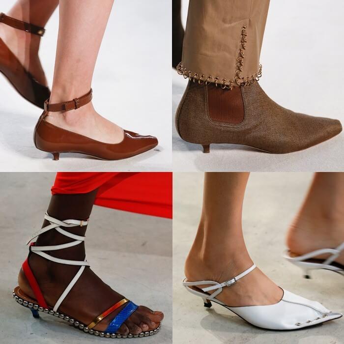 модная обувь миникаблук