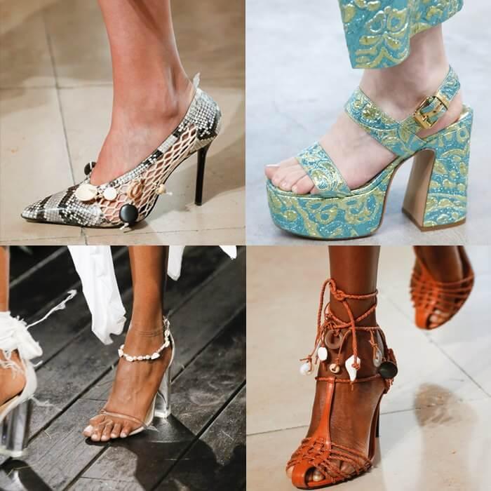 модная обувь морская тематика