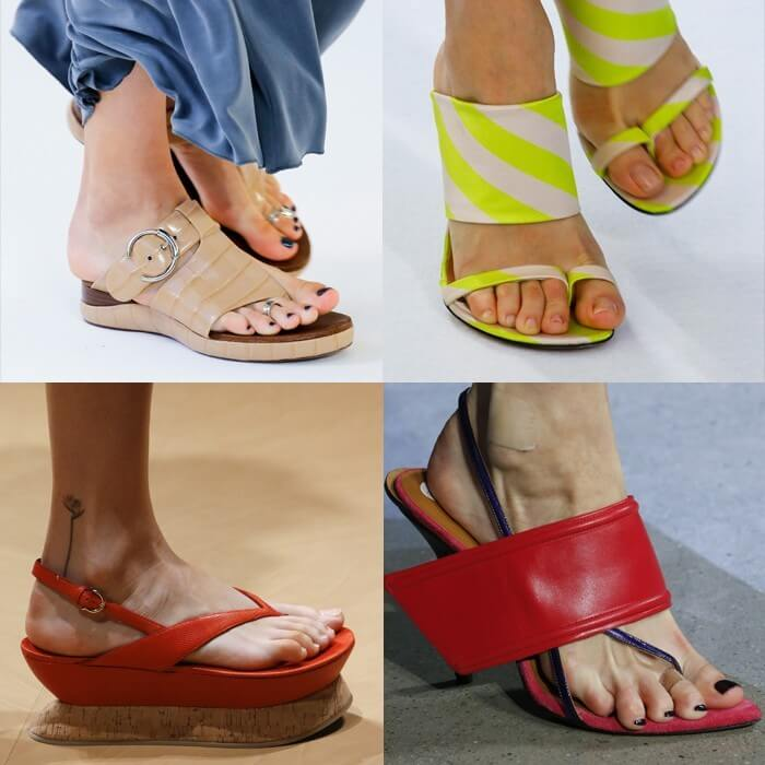 модная обувь вьетнамки