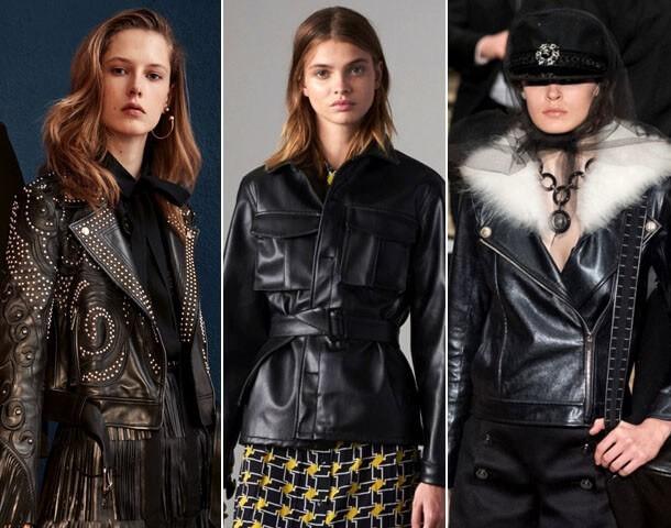 модные байкерские куртки 2019