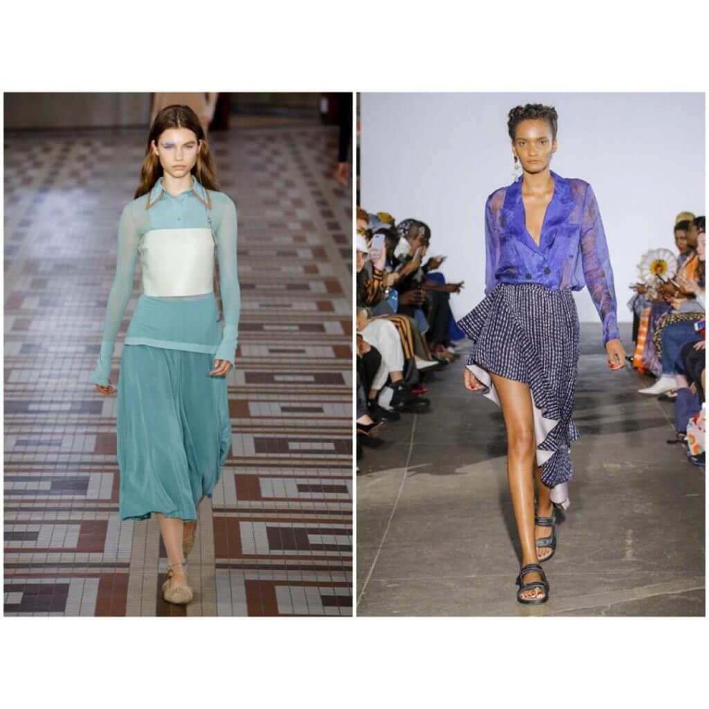 Мода, тренды: женские рубашки и блузки в сезоне весна-лето 2019, фото