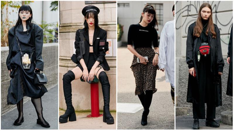 модный тренд нео готика