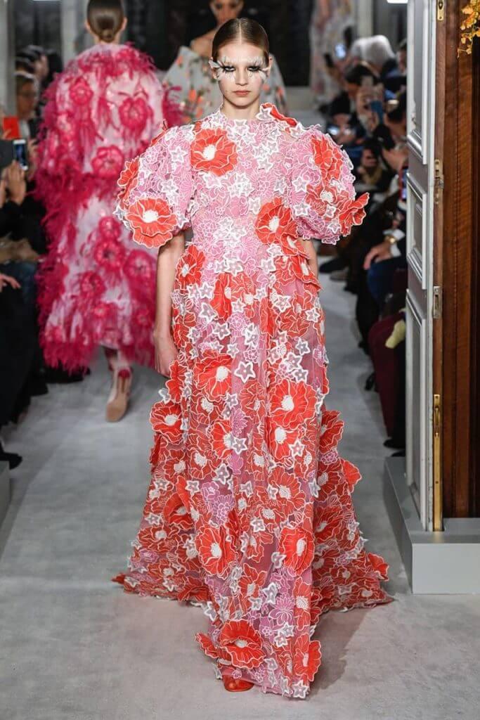 Неделя Парижской моды: весна-лето от Валентино