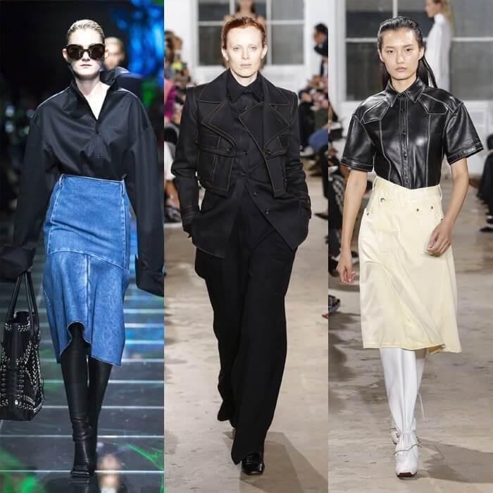 светлый деним модный тренд