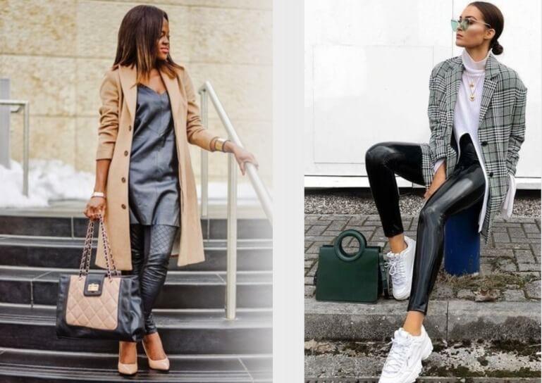 с пальто и пиджаком