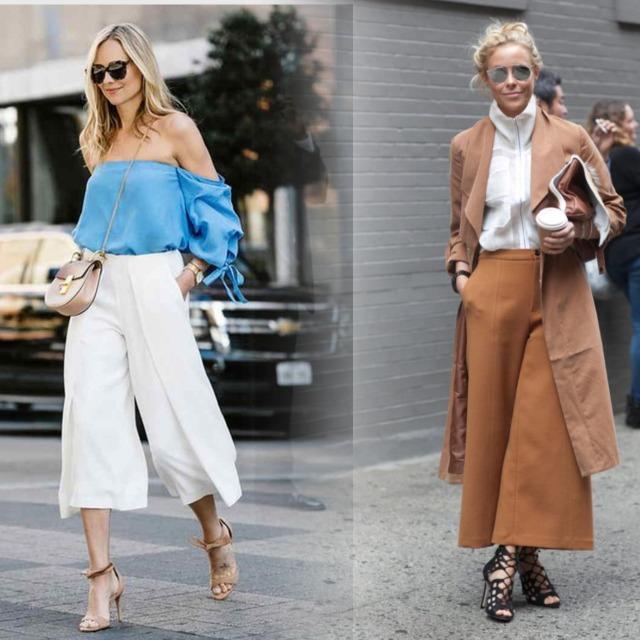 укороченные брюки с босоножками на высоком каблуке