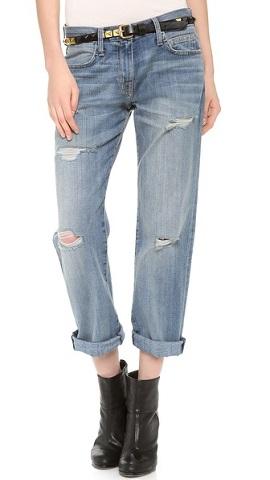 модный фасон джинсов