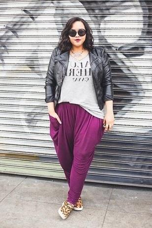 мода для полных дам для улиц
